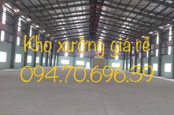 Cho thuê kho xưởng đường Kinh Dương Vương, Bình Tân, DT: 100m2, 200m2, 300m2, 600m2, 800m2, 4.000m2
