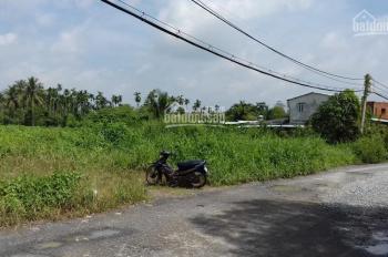 Bán đất 7800m2 MT Nhị Bình 3, gần ngã 4 Võ Thị Đầy, có 200 thổ cư, gồm 4 sổ giá 5,5tr/m2