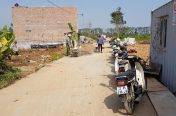 Chính chủ cần bán gấp lô đất dịch vụ đã bốc thăm tại xã Lại Yên, Hoài Đức, Hà Nội, 25 triệu/m2