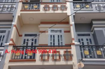 Nhà phố mới xây 3 tầng, căn góc DT: 4x14m, HXH 6m, cách Đại Lộ Đông Tây 100m