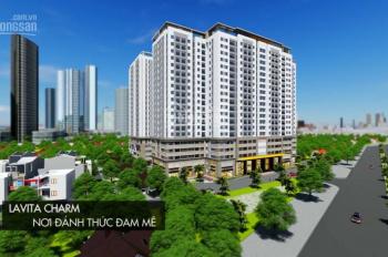 Cần bán căn C12.10 dự án Lavita Charm, căn góc view thành phố, giá chỉ 2,3 tỷ/89m2, thanh toán 33%
