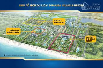 Cần nhượng lại 2 căn BT biển, sở hữu vĩnh viễn, Paris Villas duy nhất tại Phú Quốc. 0939 439 474