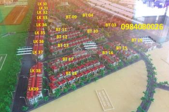 Bán liền kề biệt thự Phú Lương, giá thấp nhất dự án