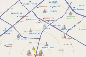 Bán căn hộ chung cư HH03 Thanh Hà Cienco 5 giá cực rẻ, vay 75% GTHĐ, 0936380111