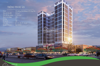 Bán căn hộ Diamond Sea Vũng Tàu, căn 2 phòng ngủ view biển 80.1, giá 2.150 tỷ, 0902 667 639