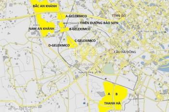 Cần bán suất ngoại giao khu D3 và C shophouse mặt đường Lê Trọng Tấn Geleximco, LH 0932458368