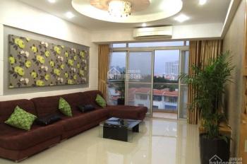 Cho thuê căn hộ Central Garden, quận 1, 80m2, 2PN, giá 13 tr/tháng, full nội thất, ban công rộng
