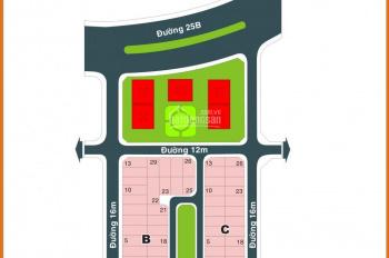 Bán đất biệt thự dự án Đá Bình Dương-sát UB Q2 DT 10x25m lô góc 2MT đường 20m giá rất rẻ 65tr/m2