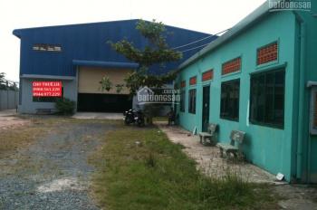 Cho thuê nhà xưởng mới đẹp Dĩ An, Bình Dương, DT: 1800m2 có trạm điện. LH: 0908.561.228