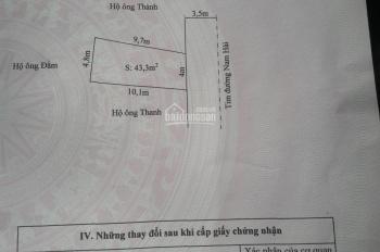 Bán đất số 118A mặt đường Nam Hải, quận Hải An, cách mặt đường World Bank 100m