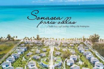 BT biển, sở hữu vĩnh viễn, Paris Villas duy nhất tại Phú Quốc. 0939 439 474