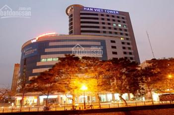 Cho thuê văn phòng Hàn Việt Tower Minh Khai, Hai Bà Trưng, HN giá 225.3 nghìn - 337.95 nghìn/m2/th