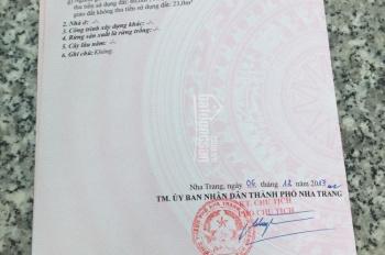 Bán đất đường Hùng Lộc Hầu, Hòn Nghê, Vĩnh Ngọc, TP. Nha Trang