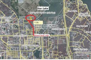 Bán nhà đất ngõ 100 Hoàng Quốc Việt - Quận Tây Hồ - Hà Nội