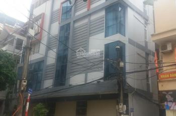Nhà phân lô mặt đường Trung Yên 13. Diện tích 115m2, xây 6 tầng, đường 12m, hè 3m