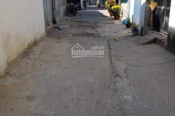 Đất cần bán gấp DT: 4.5x23m, hẻm Đông Hưng Thuận 6, phường Tân Hưng Thuận, Q12, giá 3 tỷ 500tr