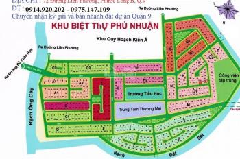 Bán đất nền KDC Phước Long B - Phú Nhuận, Quận 9, tất cả đã có sổ đỏ riêng chính chủ