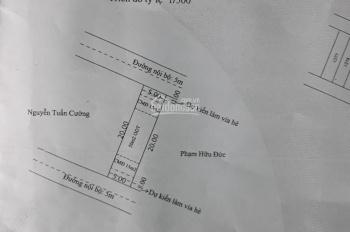 Bán gấp đất nền 2 mặt tiền trung tâm Lái Thiêu, Thuận An, Bình Dương, LH 091.111.37.12