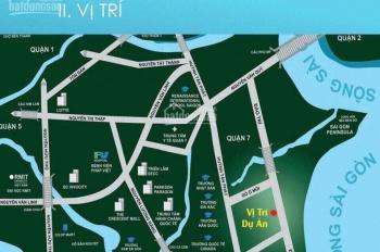 Căn hộ LK Phú Mỹ Hưng, chỉ với 500tr/3 đợt bạn sở hữu ngay với 2PN/62m2, NH hỗ trợ 70%. 0909.351549
