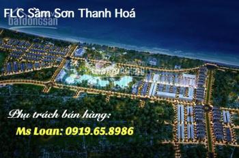 Bán đất Quảng Cư, Sầm Sơn, Thanh Hóa, mặt đường Thanh Niên rộng 47m. Gia 20tr/m2. Lh 0919658986