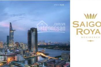 Bán nhanh 3PN Sài Gòn Royal quận 4, căn số 14 tầng cao view sông đẹp, giá 9,4 tỷ. LH: 0936393707