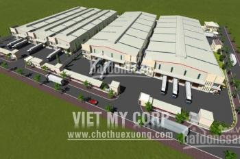 Cho thuê cụm xưởng xã Tân Phước Khánh, Tân Uyên, Bình Dương 5.000m2, 10.000m2, 15.000m2 và 30.000m2