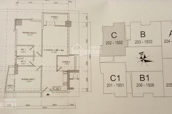 Bán căn hộ chung cư 83.02m2, CT2B VOV Mễ Trì, sổ đỏ chính chủ