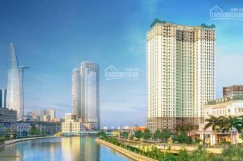 Bán căn hộ Saigon Royal 86m2 giá 7 tỷ 400 loại 2 phòng ngủ view trực diện Bến Vân Đồn LH 0899466699