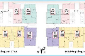 Bán gấp căn hộ CC Thông Tấn Xã, tầng 1601, DT 71,46m2, giá bán 21.5 tr/m2. LH: 0988146540