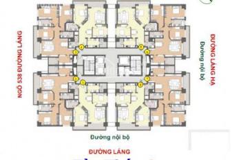 Cần bán gấp căn hộ Sky City 88 Láng Hạ, 139m2, căn góc, 3PN, giá 39 triệu/m2