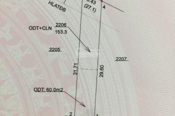 Bán đất Tân Định, Bến Cát, Bình Dương 5x25m đường bê tông 6m thông suốt giá 810 triệu. 0978937981