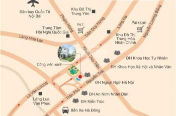 Bán gấp liền kề Nam Thắng, Phùng Khoang, giá rẻ, DT 63m2, đường 24m
