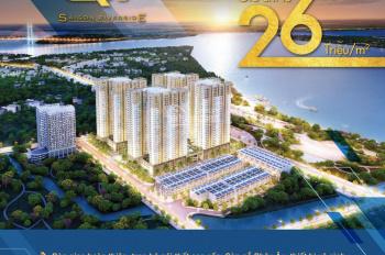 Q7 Saigon Riverside Đào Trí, quận 7, liền kề Phú Mỹ Hưng 2 phòng ngủ chỉ 1.7tỷ/căn nội nhất cao cấp