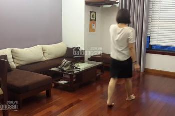 Cho thuê chung cư Vườn Xuân 71 Nguyễn Chí Thanh, DT 128m2, 3 phòng ngủ, đủ đồ, LHTT: 0972217829