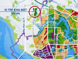 Bán nhà đất xây thô KĐT Hà Phong, Mê Linh, 160m2, giá 14 tr/m2 + thô 900 triệu