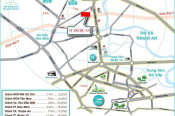 Bán lô đất 100m2 mặt tiền đường Võ Văn Bích, Bình Mỹ - Củ Chi