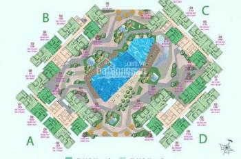 Cần bán gấp CH Sadora Đại Quang Minh, 2PN, 88m2, 5.3 tỷ view hồ bơi, LH: 09336398186
