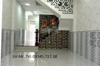 Dãy nhà phố 4 tầng, KDC An Dương Vương, P. 16, Q. 8, cách TT Q6 500m, SH riêng 2018, đã hoàn công