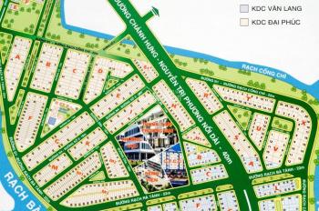 Bán đất KDC Đại Phúc, Phạm Hùng, đường 18m, còn 1 lô duy nhất giá 54 triệu/m2