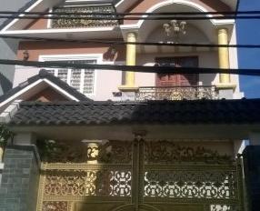 Bán nhà sổ hồng gần bệnh viện Bình Tân 4,5m x 18m đúc 4 tấm, giá 4,2 tỷ hẻm nhựa 8m, 0902478368