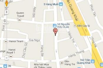 Chính chủ anh tôi bán nhà khu phố Nguyễn Hữu Huân, DT 200m2, MT 7m, bán 75 tỷ. LH 0944587997