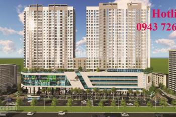 Cho thuê mặt bằng kinh doanh tầng 1,2 tòa nhà Golden Palm, Lê Văn Lương, Trung Hòa, Thanh Xuân