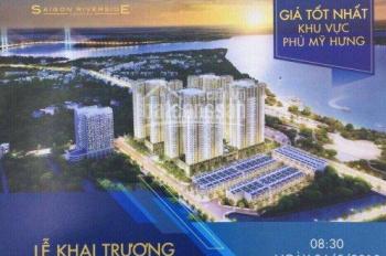 CĐT Hưng Thịnh nhận giữ chỗ block đẹp 3 mặt view sông 1,6tỷ, DA Q7 Saigon Riverside LH: 0903042938