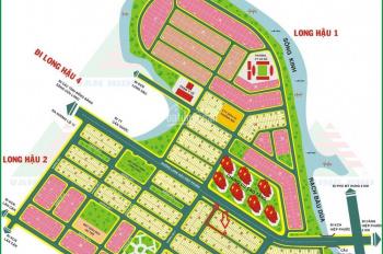 Đất nền KDC Long Hậu, DT: 117m2, giá: 1 tỷ 650 (14 triệu/m2), cách 200m ra đường lớn Long Hậu