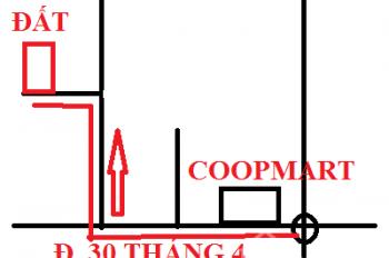 Đất 12mx65m, cho thuê làm kho xưởng tại hẻm đường 30/4, TDM, BD (gần Coopmart): 15 triệu/tháng