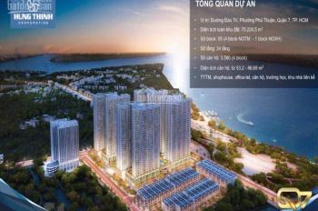 Những căn đẹp, mua bán ký gửi căn hộ Q7 Riverside Complex CĐT Hưng Thịnh, CK 3- 18%. Thông tin đúng