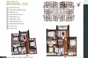Gold Tower 275 Nguyễn Trãi LS 0% hoặc CK 6%-8%, tầng 17-33, Q4/2019 PKD Gold Tower: 0981152882