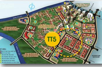 Bán biệt thự Tây Nam Linh Đàm lô góc TT5 đẹp nhất dự án