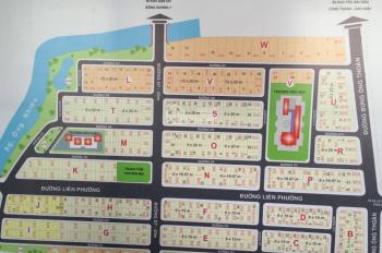 Bán đất sổ đỏ dự án Sở Văn Hóa, Phú Hữu, Quận 9. Bán lô K, lô H, giá chỉ 72 tr/m2