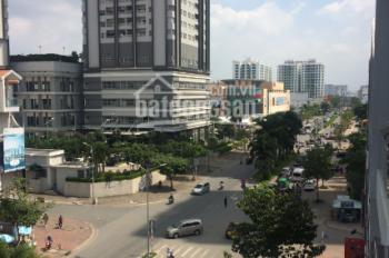 Cho thuê nhà góc khu Him Lam Kênh Tẻ, 12.5x20m, hầm, 4 lầu, 700 m2 xây dựng. Giá thỏa thuận